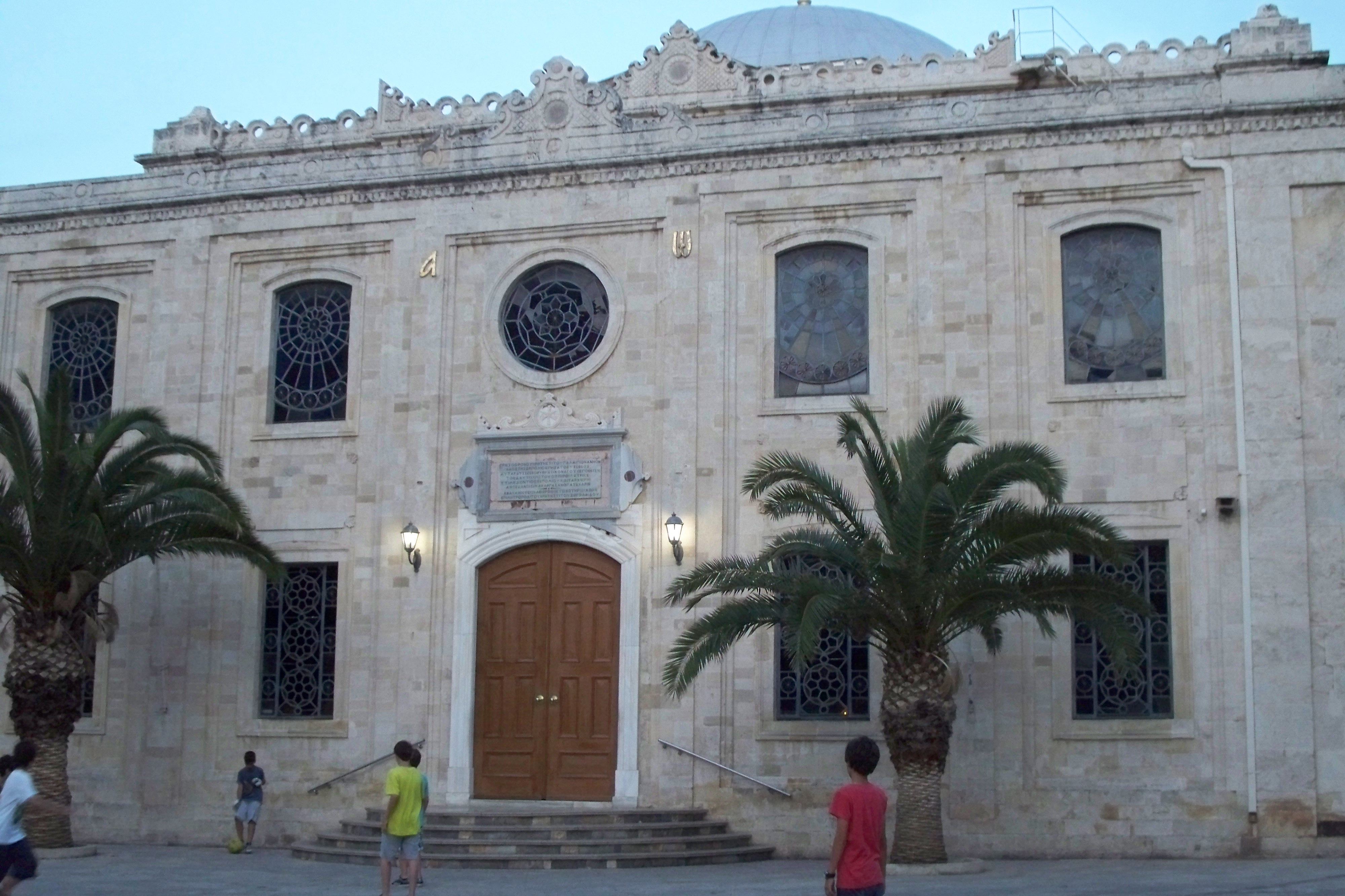 Eglise Agios Titos a Heraklion