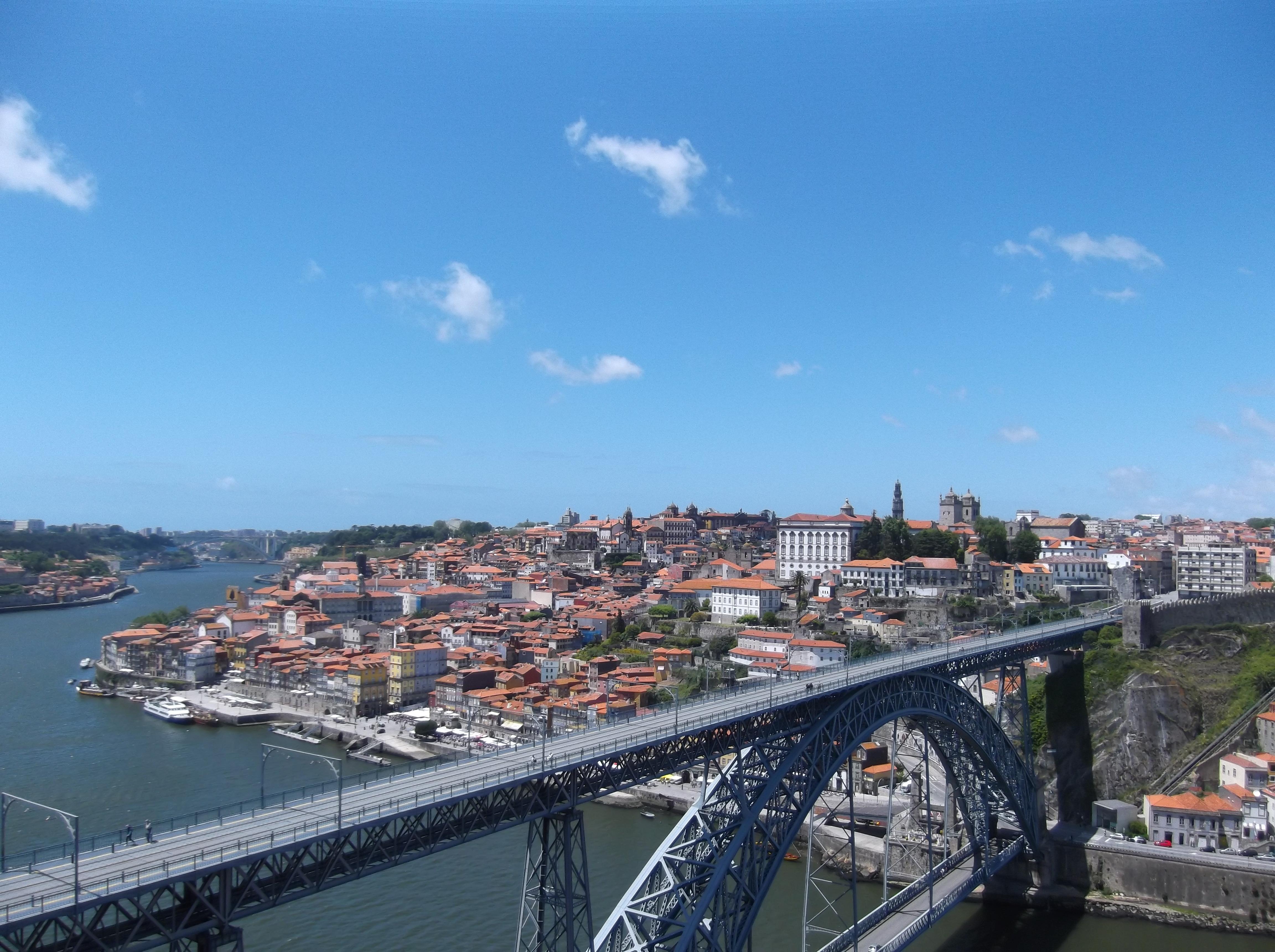 Pont Dom Luis I à Porto