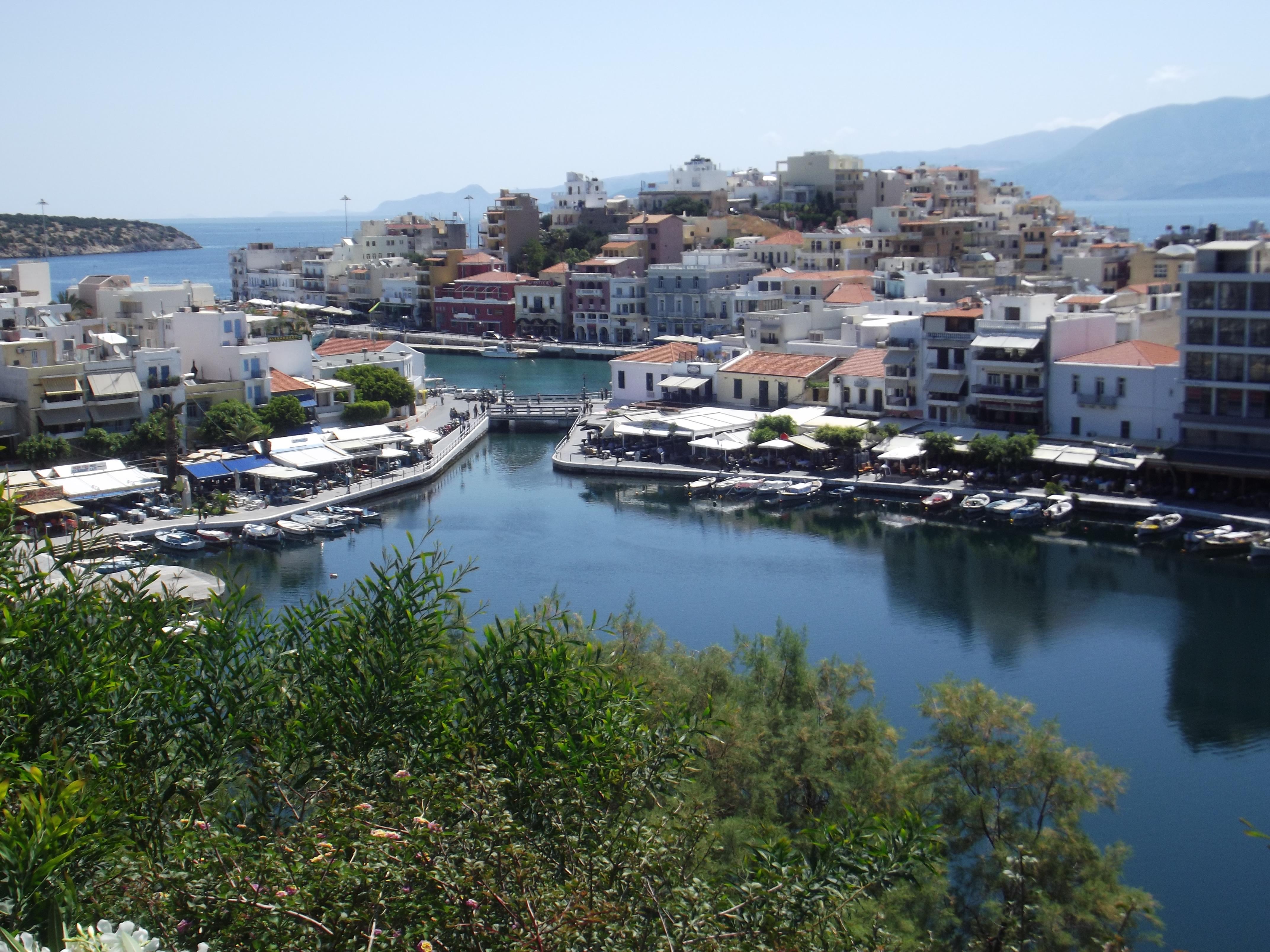 Vue sur Agios Nikolaos