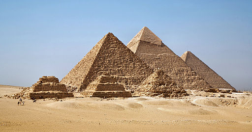 Pyramide de Gizeh © Ricardo Liberato