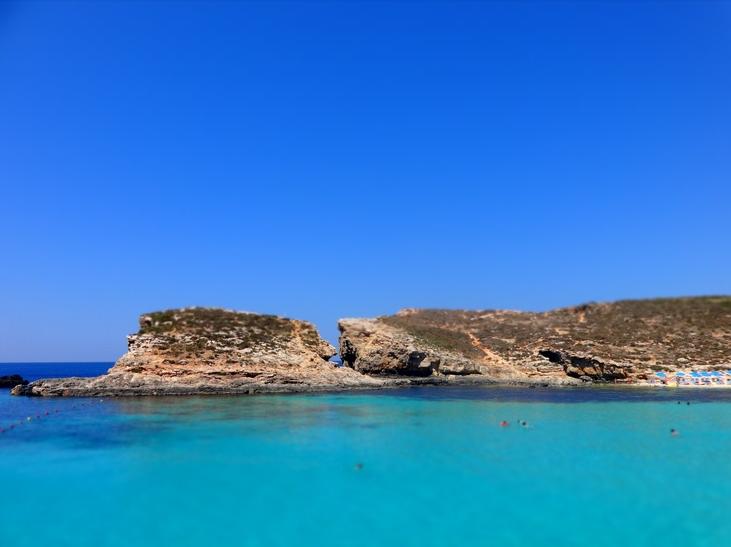 La côte à Malte