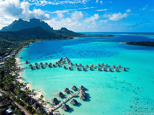 Bora Bora en Polynésie Française © Pierre Lesage