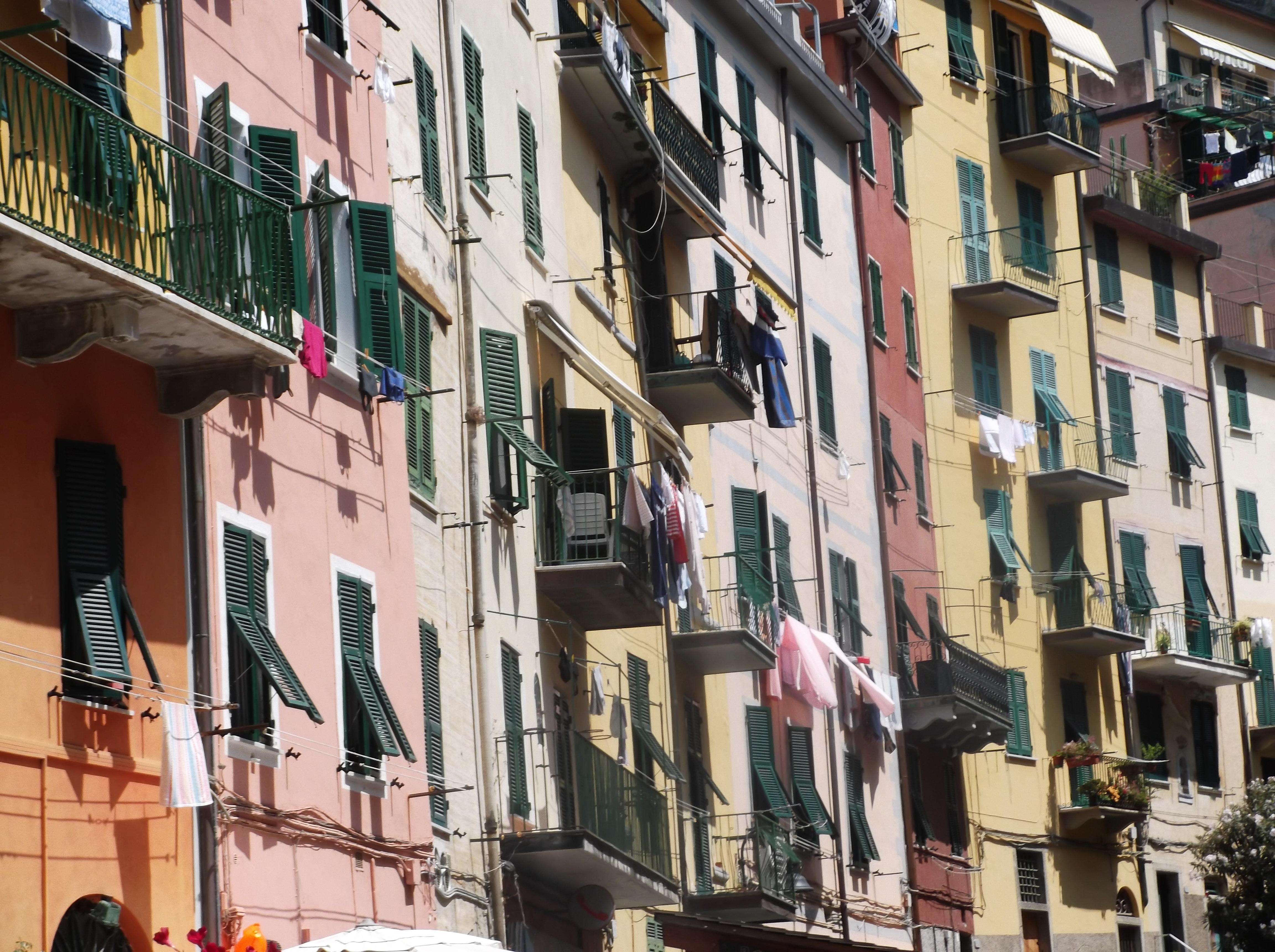 Maisons de Riomaggiore