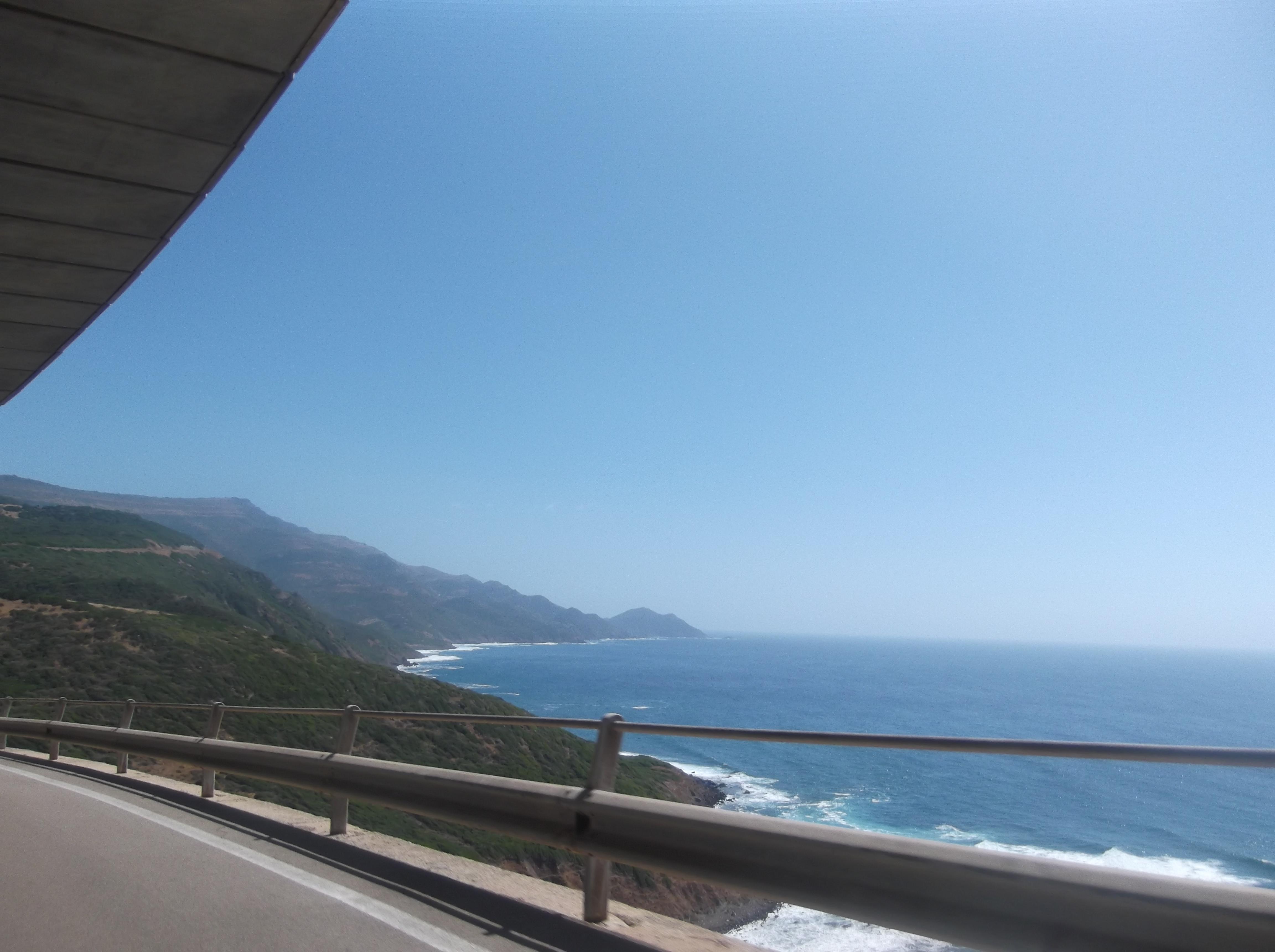 Route d'Alghero vers Bosa
