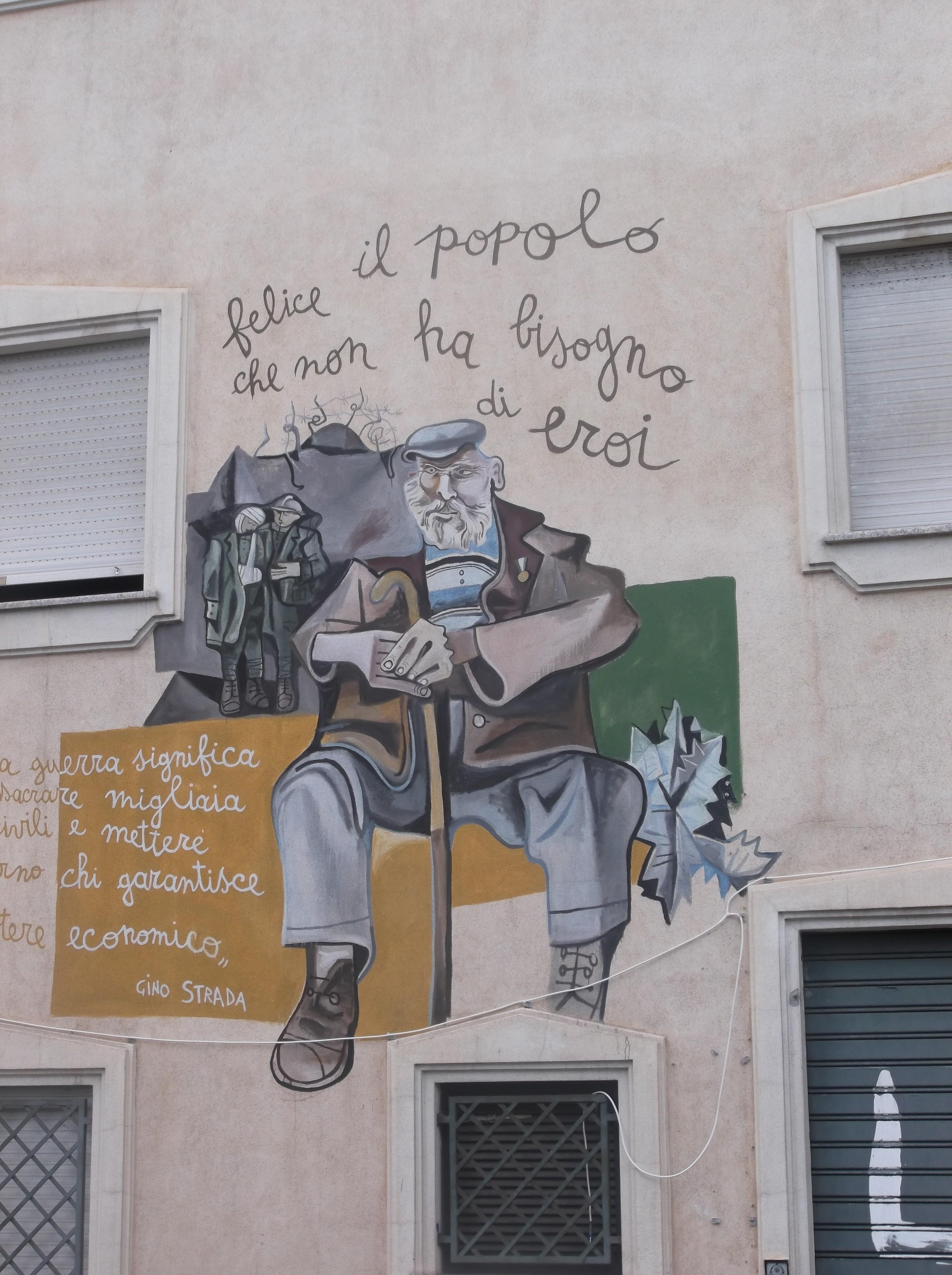 Peinture murale à Orgosolo