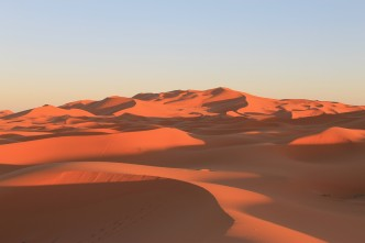 Les dunes de Merzouga