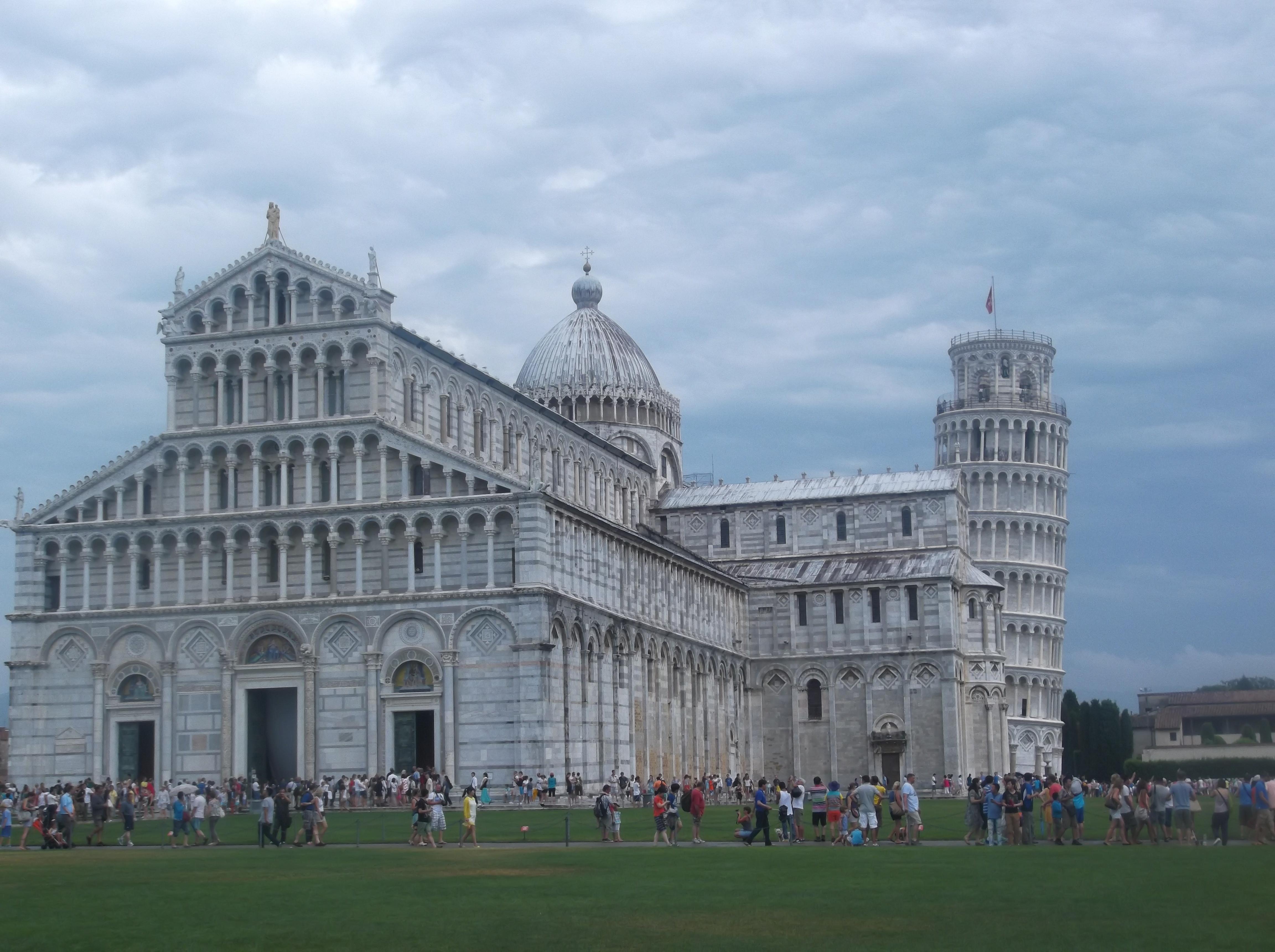 Pise Italie Vieille Ville De Pise