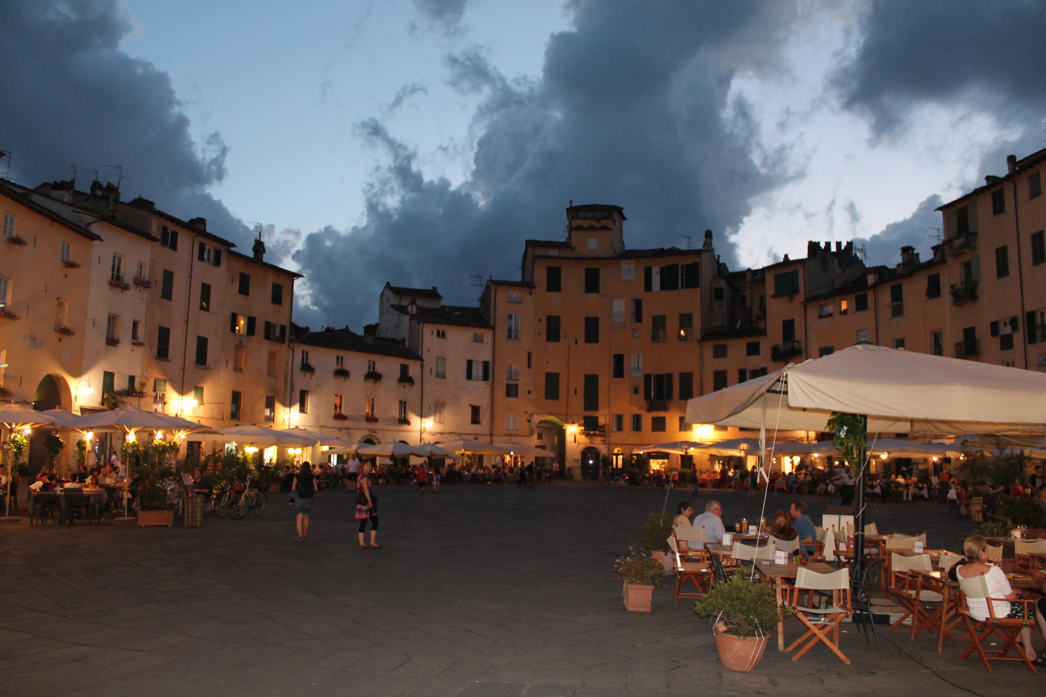 Le centre de Lucca