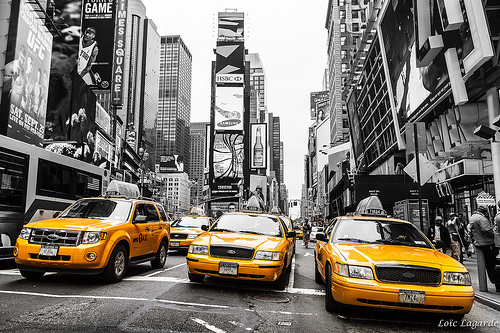 Les taxis de New York