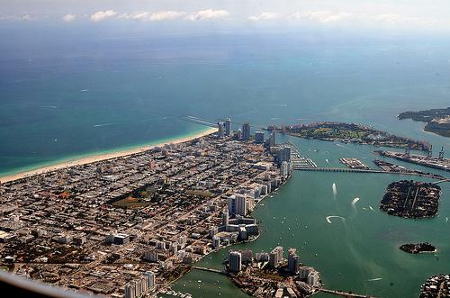 Ville et port de Miami