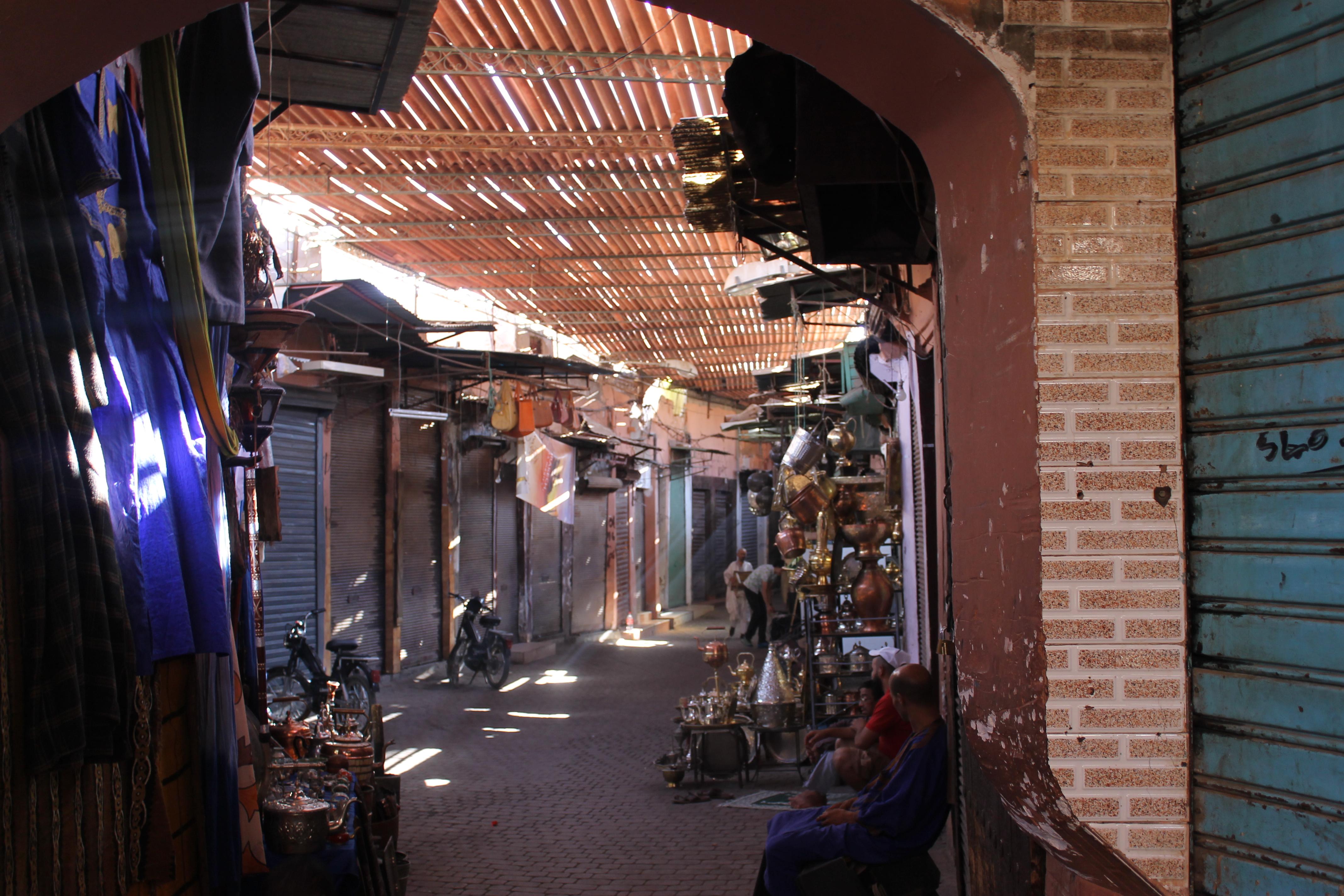 Visite des souks de Marrakech