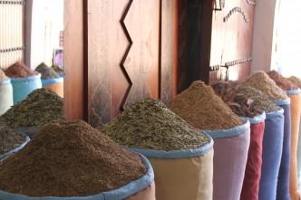 Les épices de Marrakech