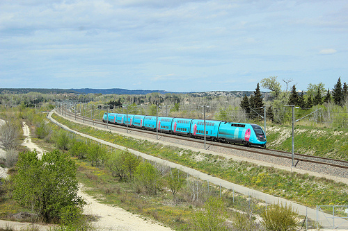 Train Ouigo Paris/Marseille