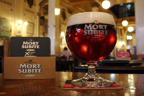 La bière belge (Mort Subite)