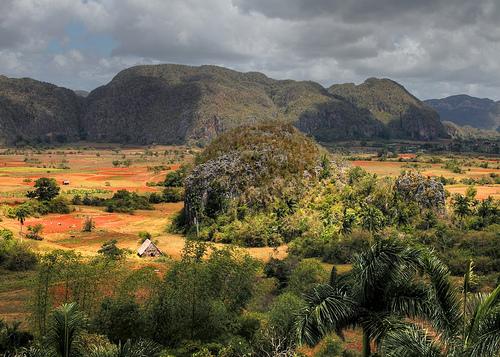 Vallée de Vinales à Cuba