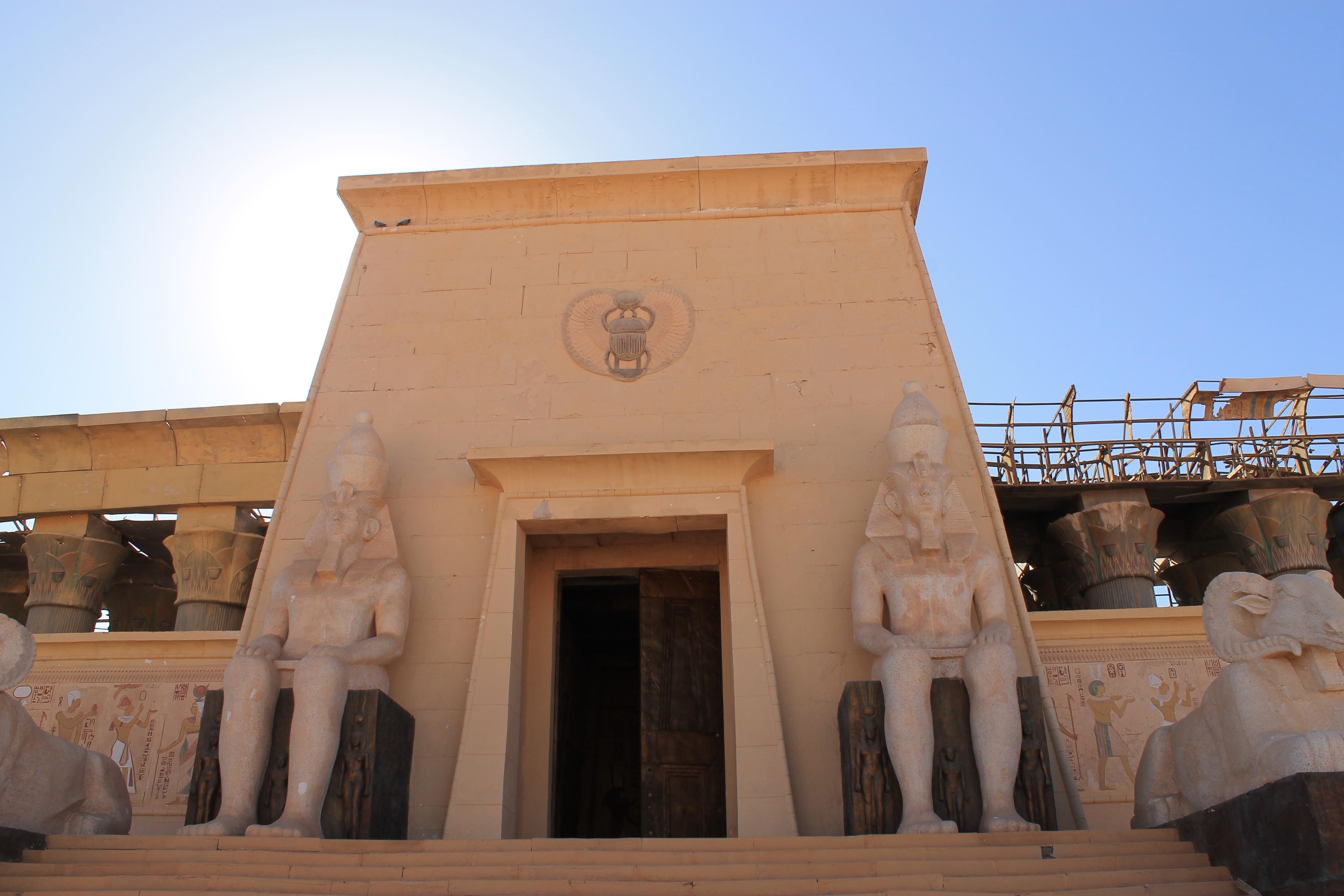 Le décor du film Astérix et Obélix à Ouarzazate