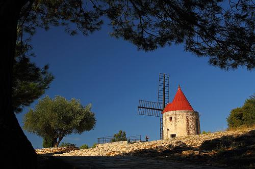Le moulin de Fontvieille