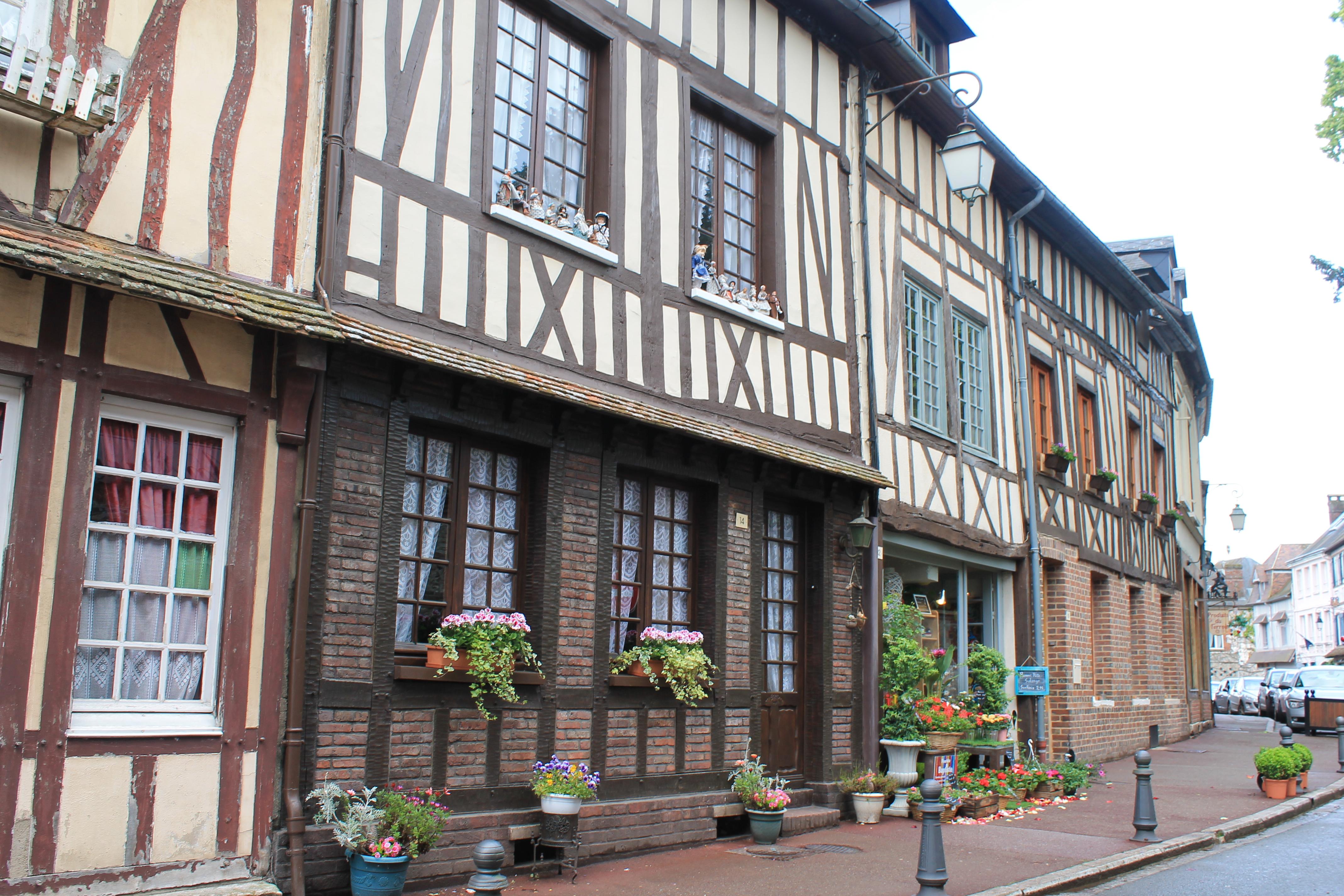 Le village de Lyons-la-Forêt