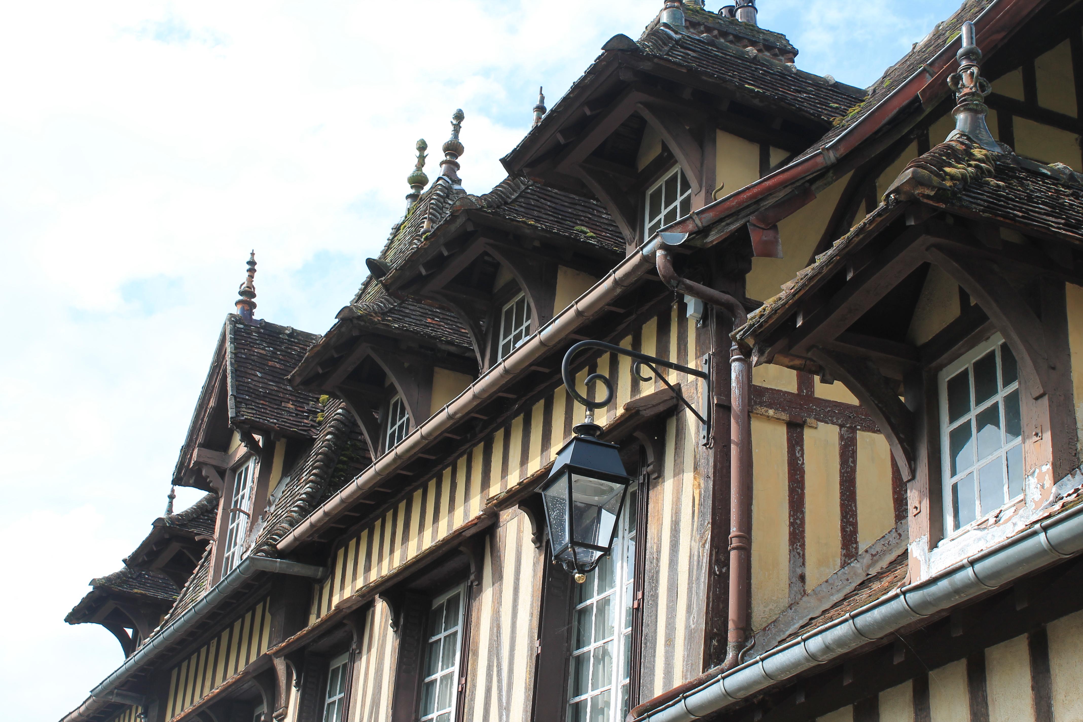 Une maison de Lyons-la-Forêt