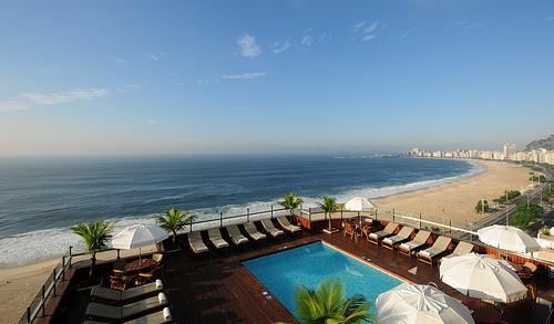 Un hôtel à Rio de Janeiro avec vue sur Copacabana