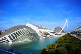La Cité des Arts et des Sciences de Valencia