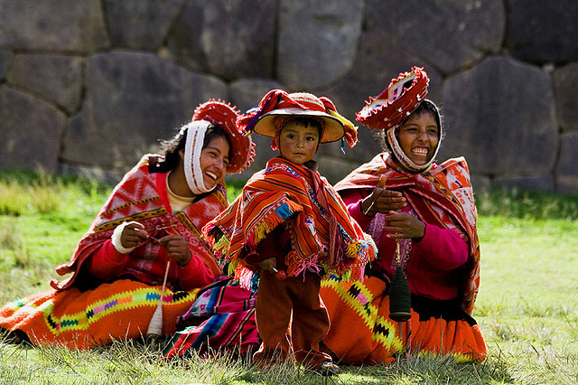 Portraits pris dans la Vallée Sacrée des Incas