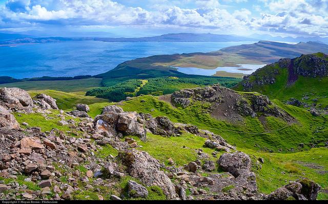 Ile de Skye en Ecosse