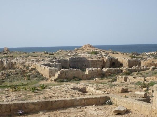 Le Tombeaux des Rois à Paphos