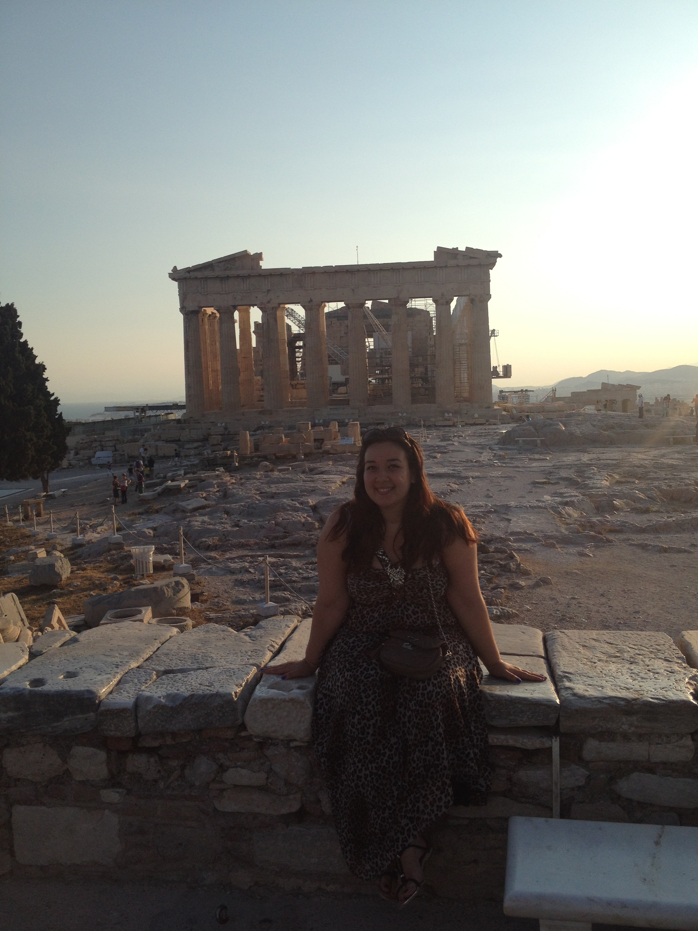 Photo d'Alexandra : une grande voyageuse et working girl en Grèce !