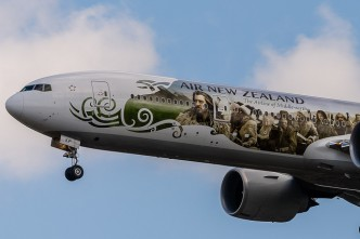Avion Air New Zealand - The Hobbit