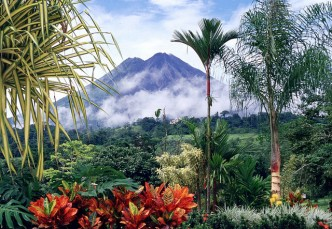 Le volcan Arenal au Costa Rica