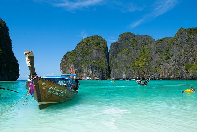 Koh Phi Phi en Thailande