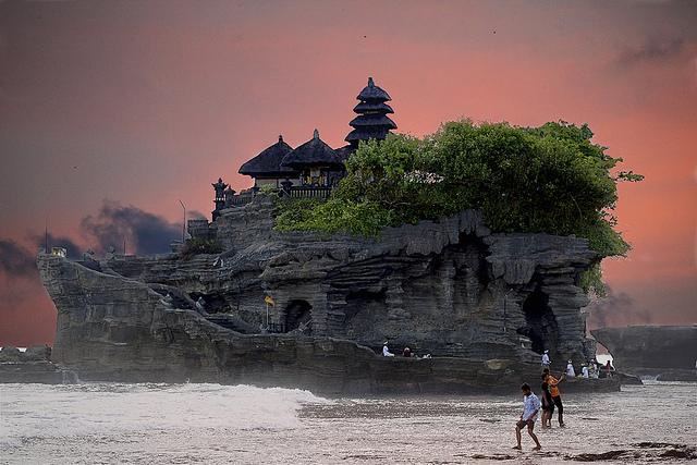 Tanah Lot Temple à Bali