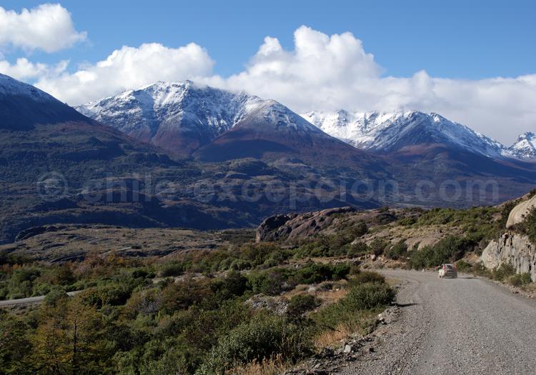 Une route au cœur du Chili