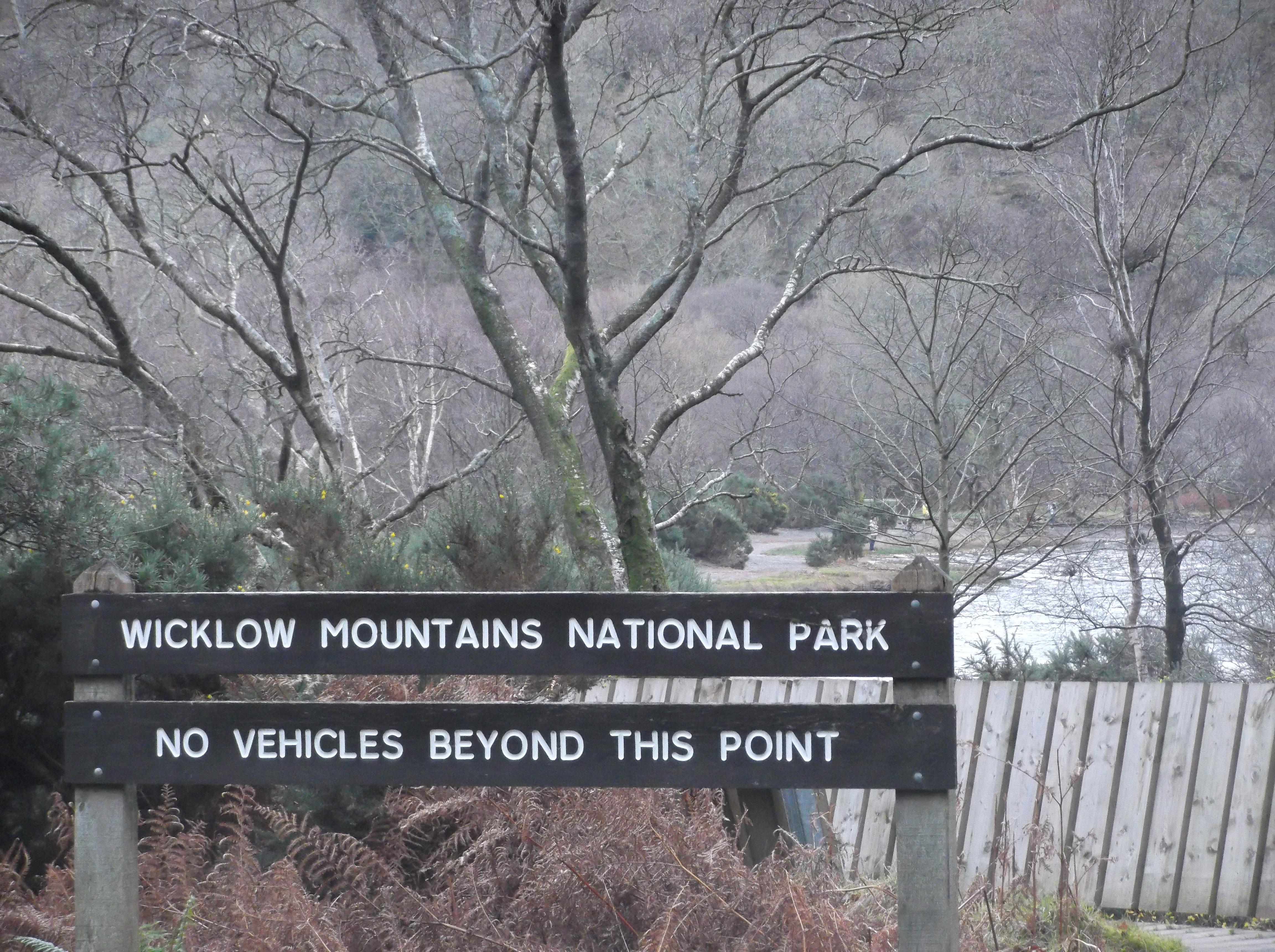 Le parc national des Wicklow en Irlande