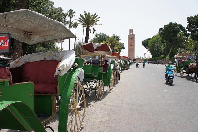 Calèches au Maroc