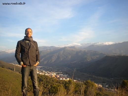 Jérémy (Roadcalls) en Espagne