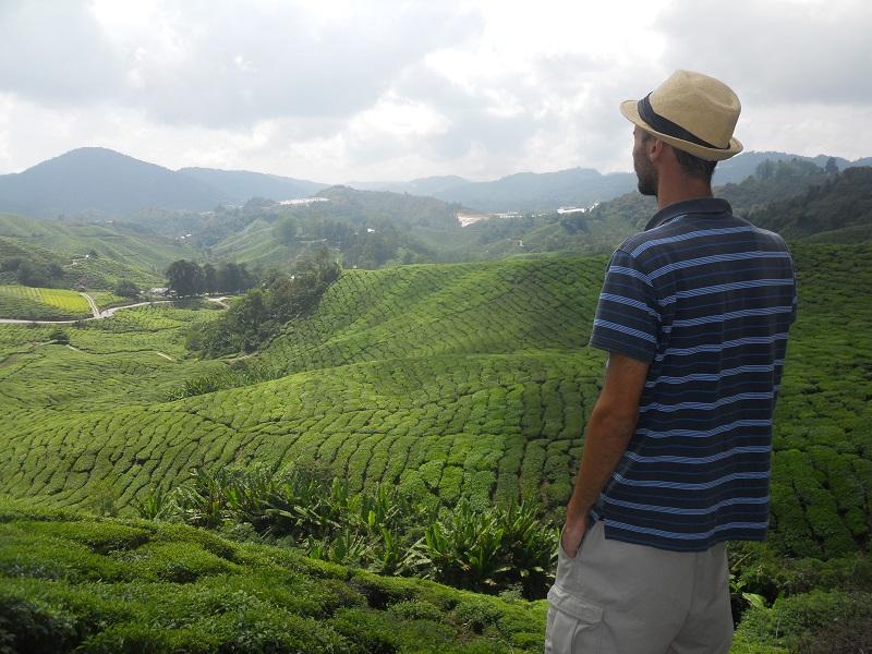 Jérémy (Roadcalls) en Malaisie