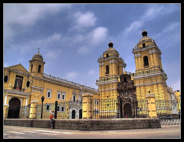 Le couvent San Francisco à Lima au Pérou