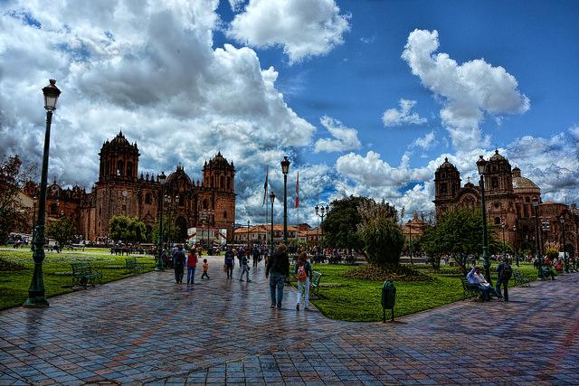 Plaza de Armas à Cuzco