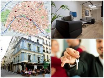 La location d'un appartement à Paris pour les vacances