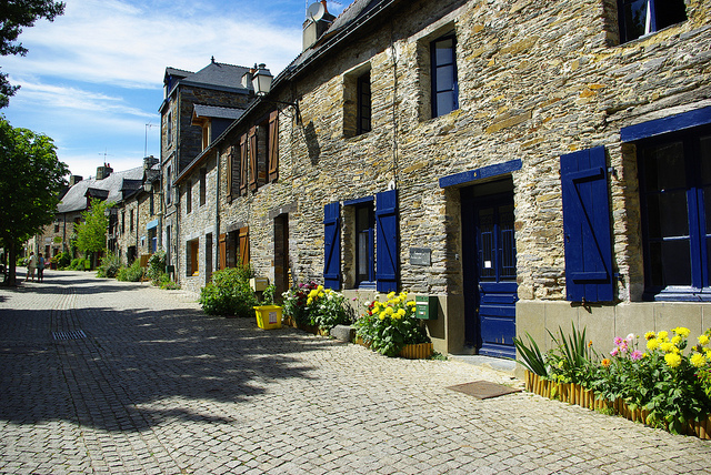 Maisons de La Gacilly, rue Lafayette