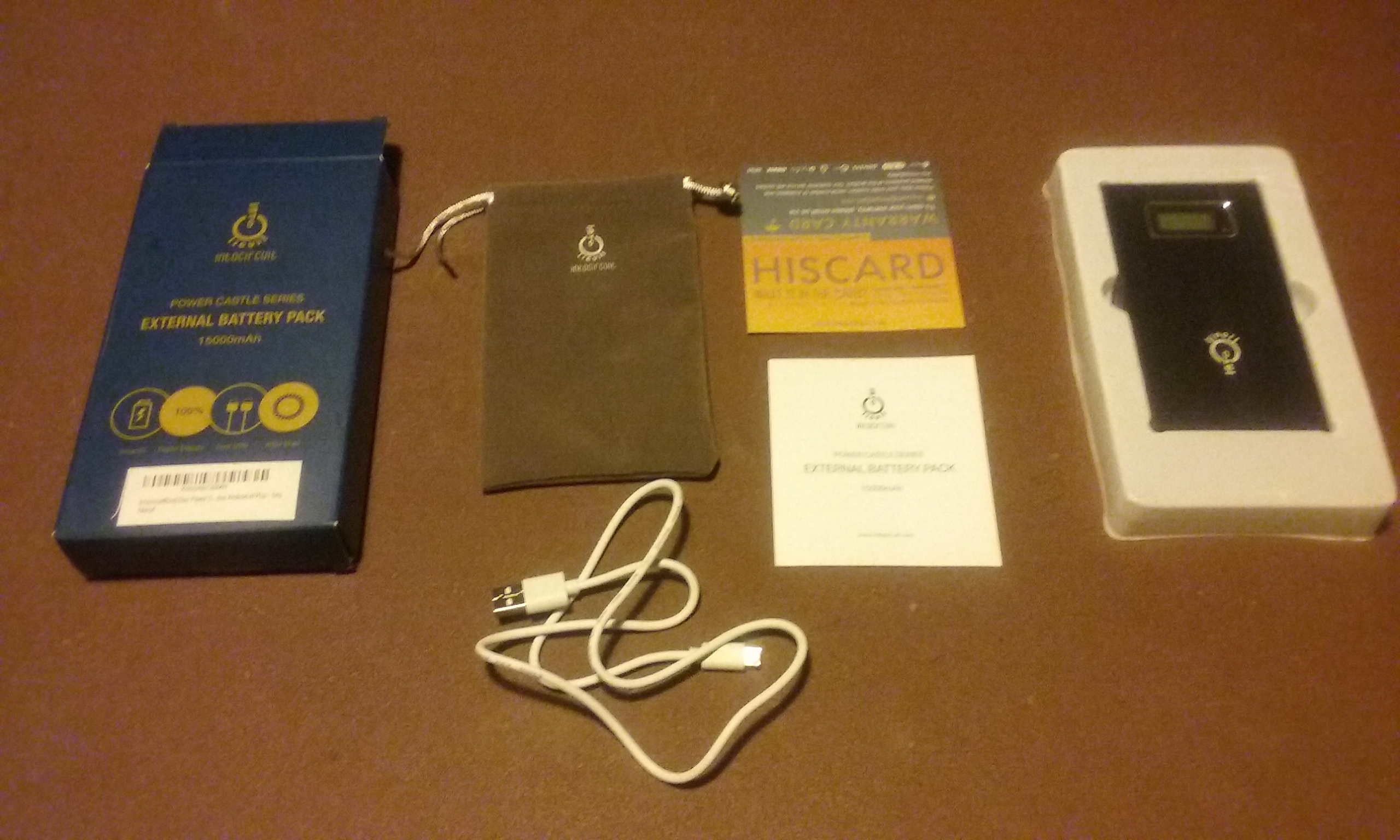 Le pack complet Power Bank Intocircuit