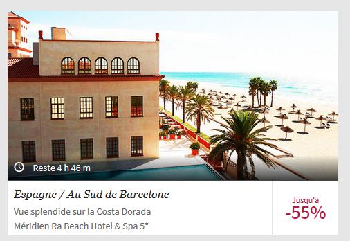 L'offre de Voyage Privé pour un séjour en Espagne