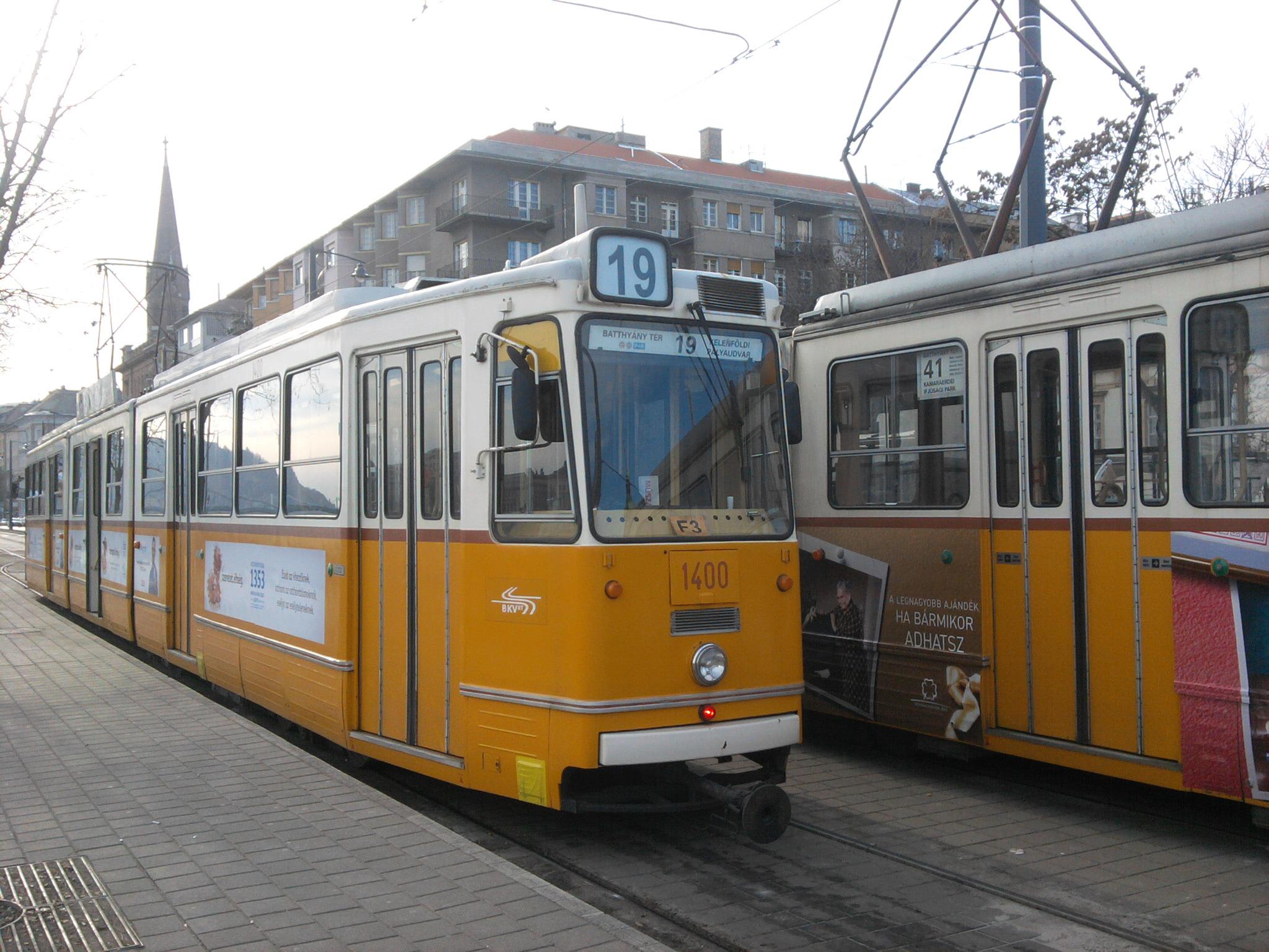Tramway côté Buda
