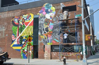 Le street art de Williamsburg