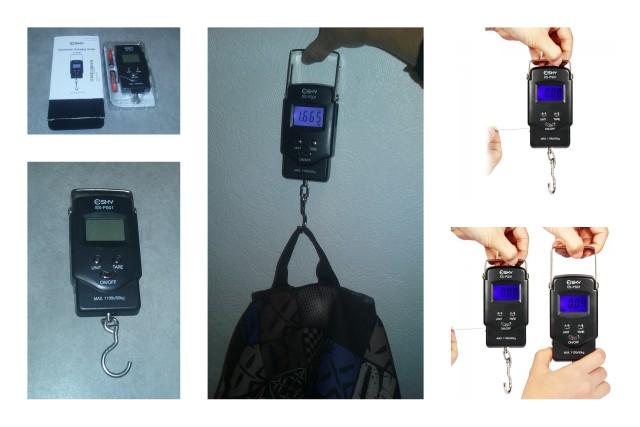 Test du pèse-bagage Esky