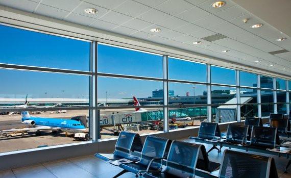 Salle d'embarquement à l'aéroport