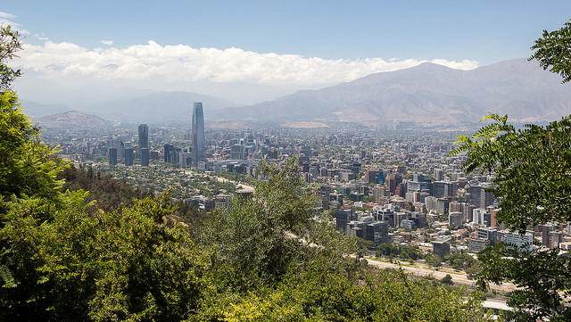 Santiago au Chili