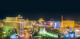 La ville de Las Vegas la nuit